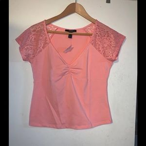 Forever 21 coral Top